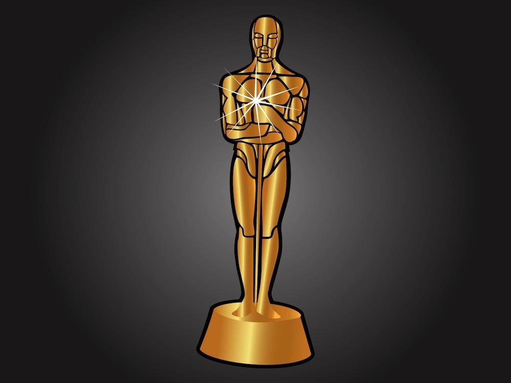 1024x768 Oscar Statue Clipart