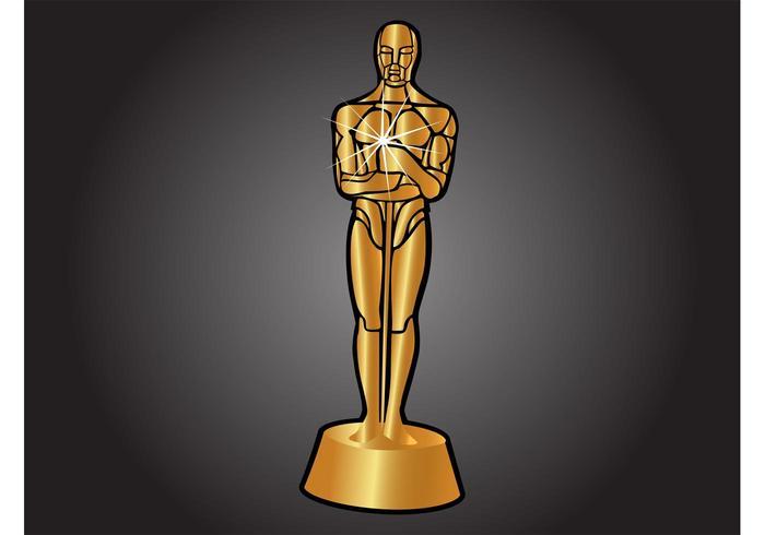 700x490 Oscar Statue Free Vector Art