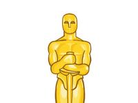 200x150 Oscar Trophy Illustration By Brian Lueck