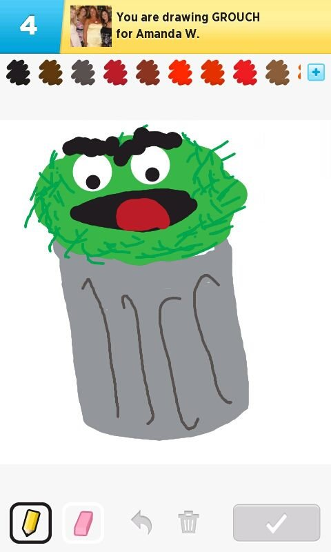 480x800 Grouch Drawings