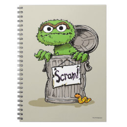 260x260 Oscar The Grouch Notebooks Amp Journals Zazzle