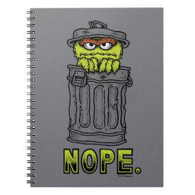 400x400 Oscar The Grouch Icons Notebook