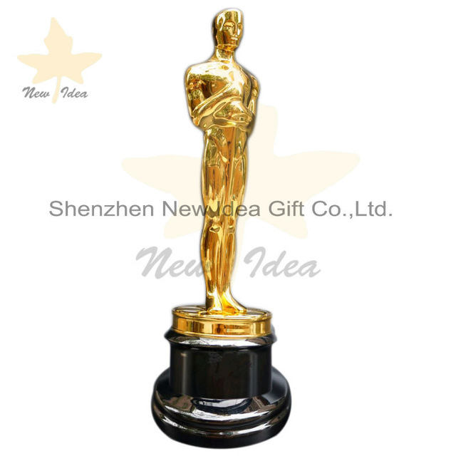 640x640 Free Dhl Shipment With 11 Replica Metal Oscar Trophy Awards Prize