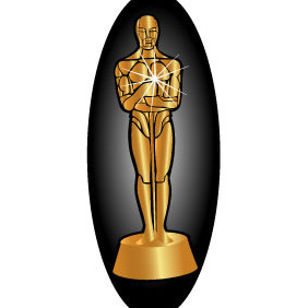 282x282 Vector Oscar Statue Template Free Vector Download 381821 Cannypic