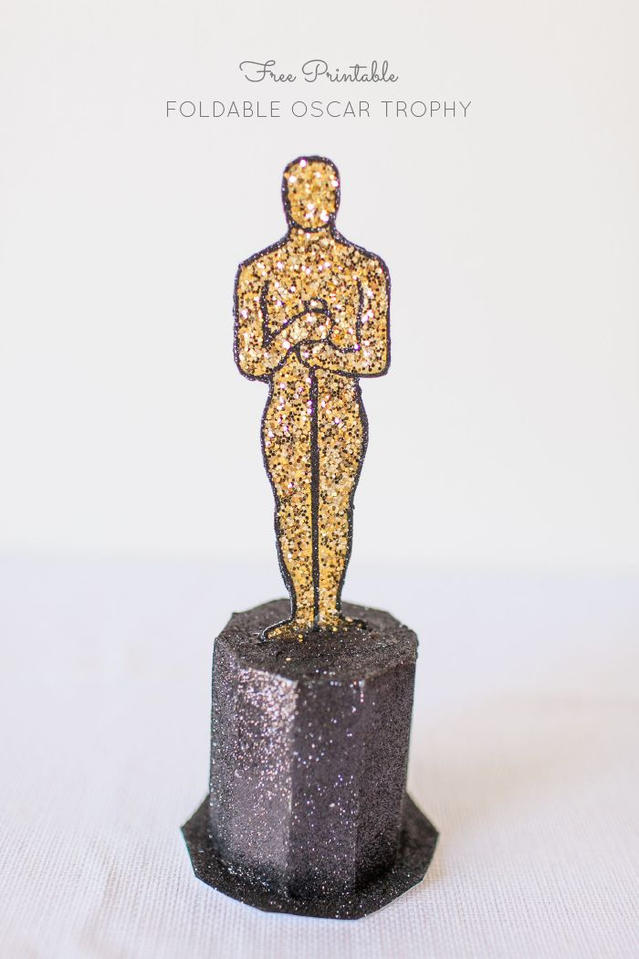 700x1050 Free Printable Oscar Award From Papermuse Ayanna's Party