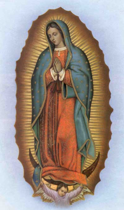 400x680 The Apparition Of Our Lady Of Guadalupe In 1531