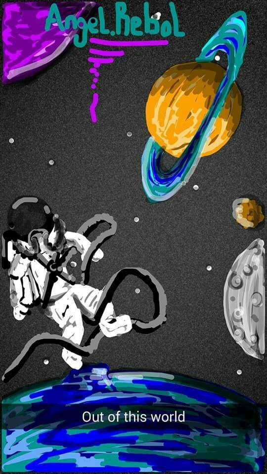 540x960 Snapchat Angel.rebol Outer Space Snapchat Drawings