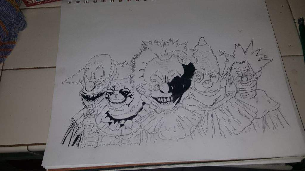 1024x576 Killer Klowns From Outer Space Drawing Horror Amino