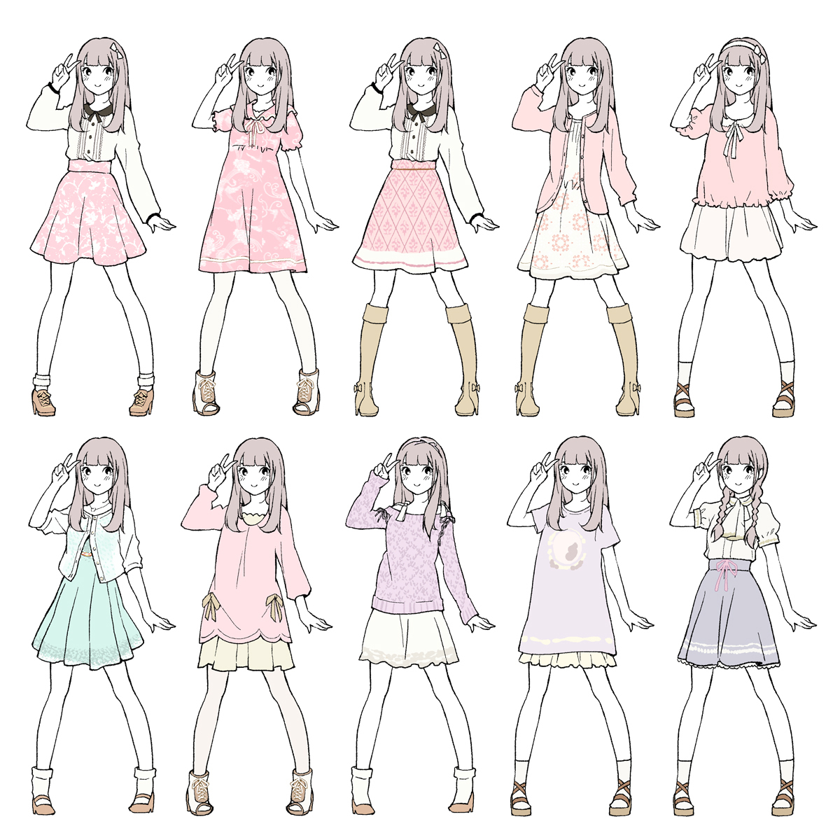 1200x1200 Cute Anime Outfits To Draw Cute Anime Outfits To Draw Cute Anime
