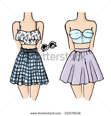 beautiful drawings dress