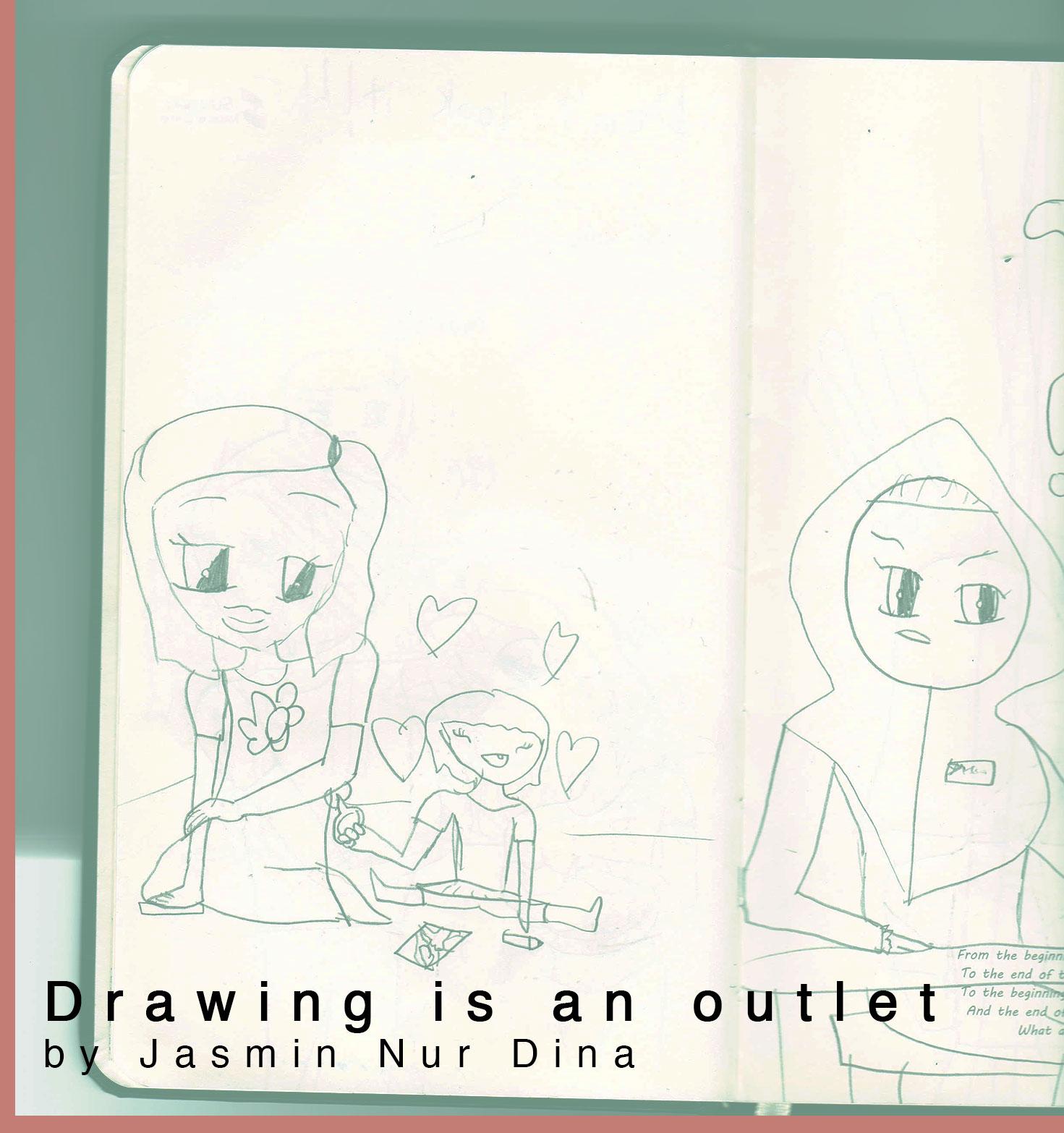 1471x1566 Drawing Is An Outlet Jasmin Nur Dina Burning House Press