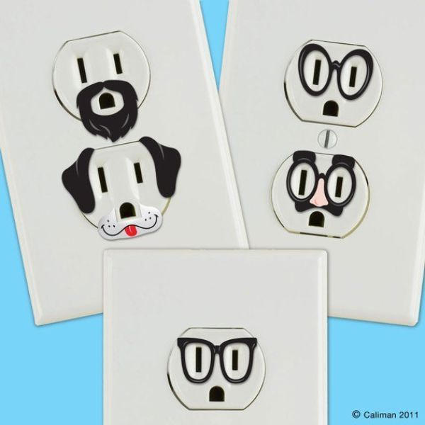 600x600 Electrical Outlet Faces