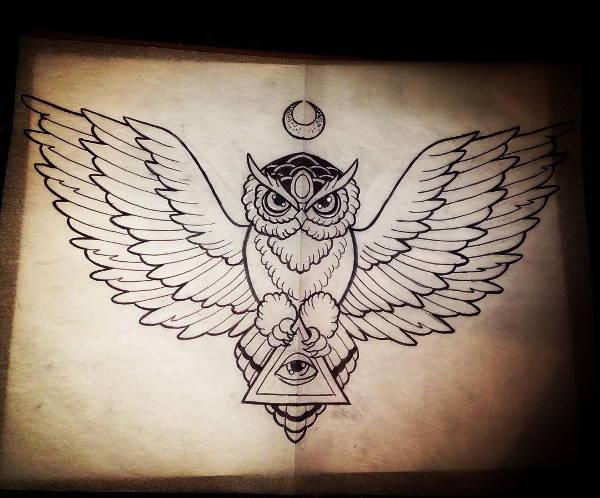 600x498 Owl Drawings, Art Ideas Free Amp Premium Templates