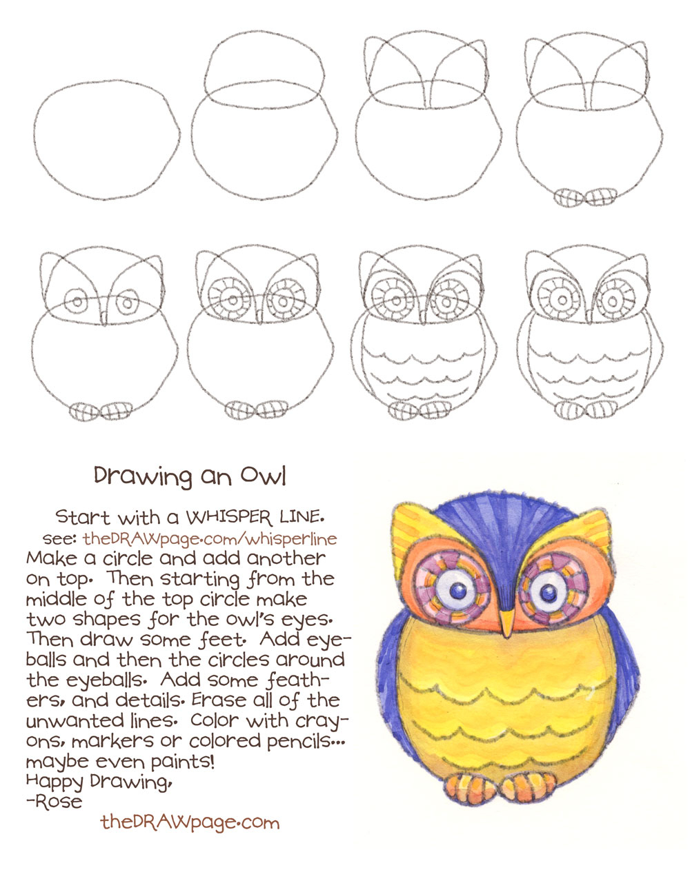 1000x1294 Owl Drawing Step By Step Drawing An Owl