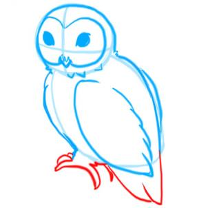 302x302 How To Draw Owls Step 9 Drawing Tutorials Draw