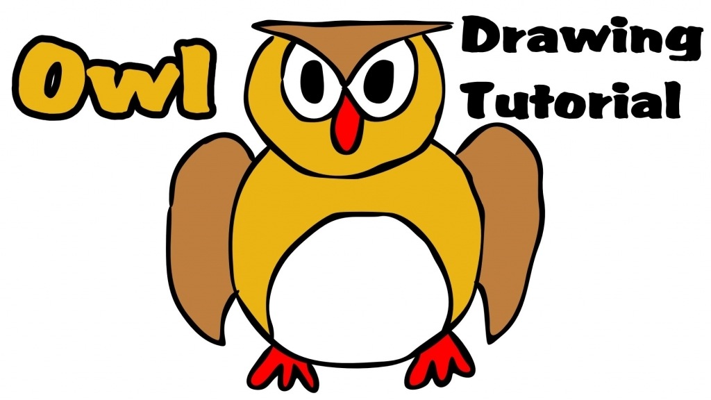 Owl Easy Drawing at GetDrawings | Free download