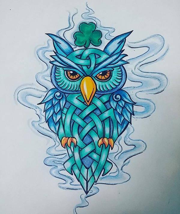 600x715 Owl Drawings, Art Ideas Free Amp Premium Templates