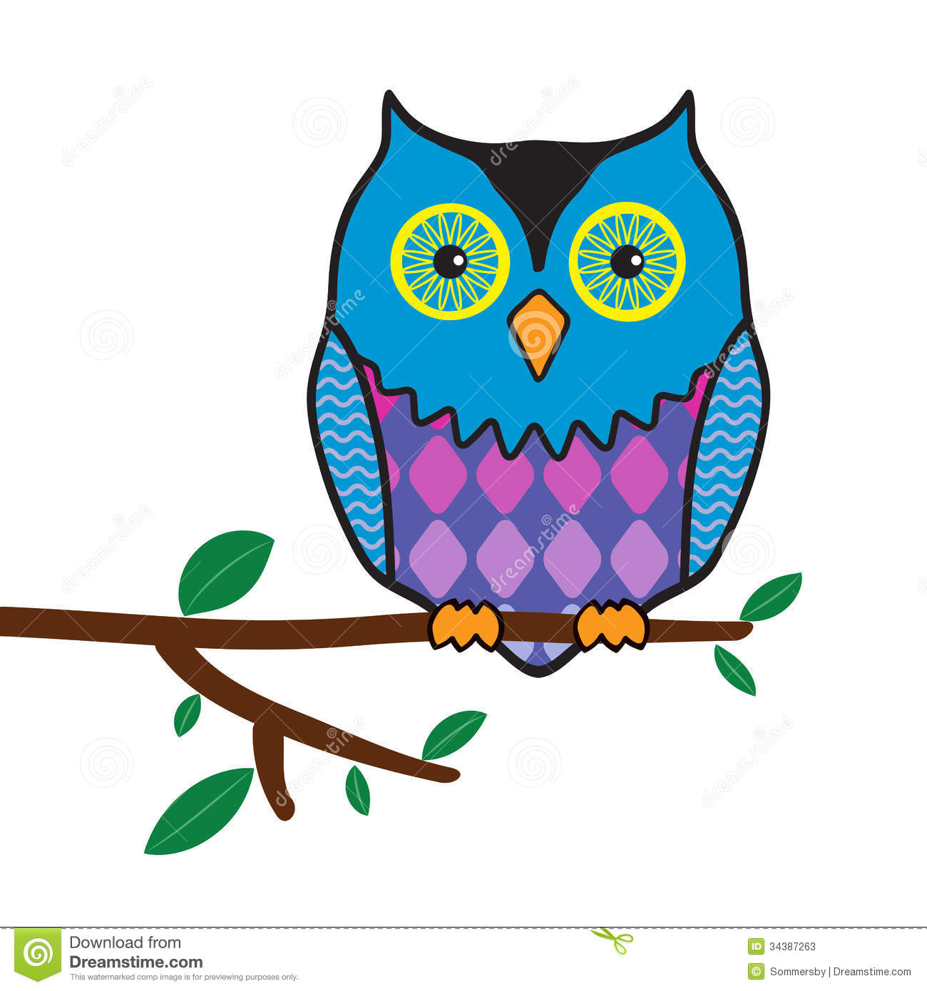 1300x1390 Owl On Branch Drawing Owl On Branch Clip Art Owl On Branch Clip