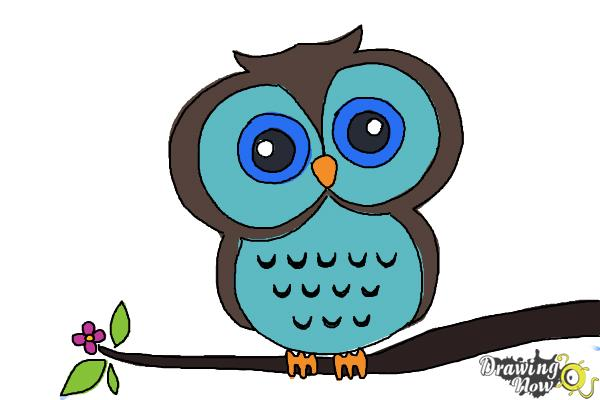 600x400 How To Draw An Owl For Kids