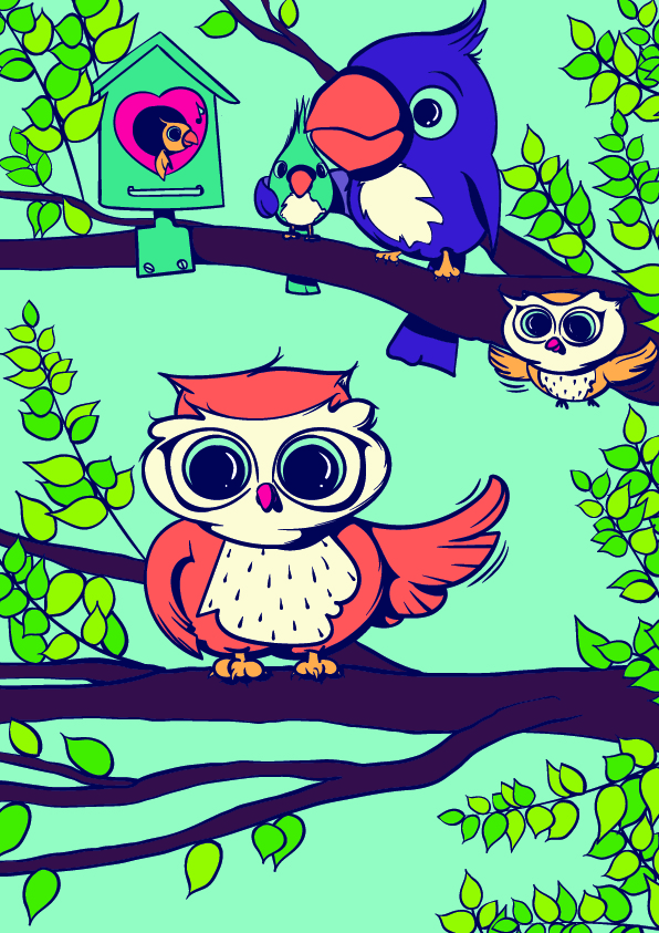 596x843 Learn How To Draw An Owl