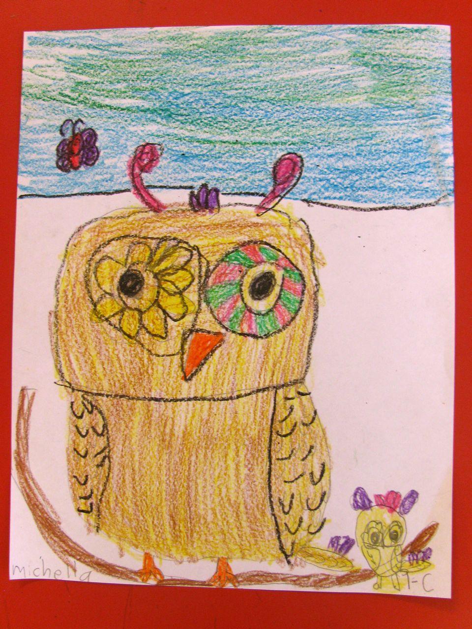 960x1280 Teach How To Draw Gorgeous Owls In Grade One Alejandra Chavez