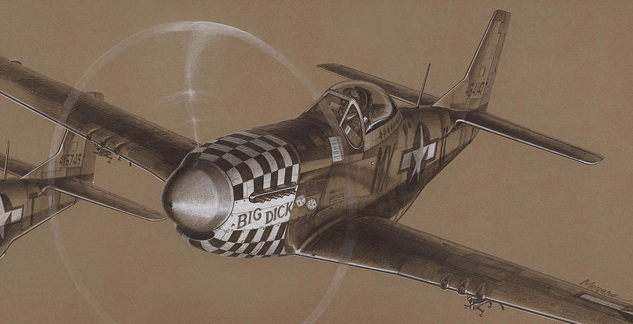900x461 The Duxford Boys Drawing Drawing By Wade Meyers