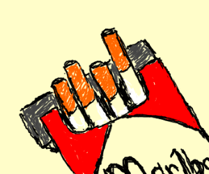 300x250 A Pack Of Cigarettes