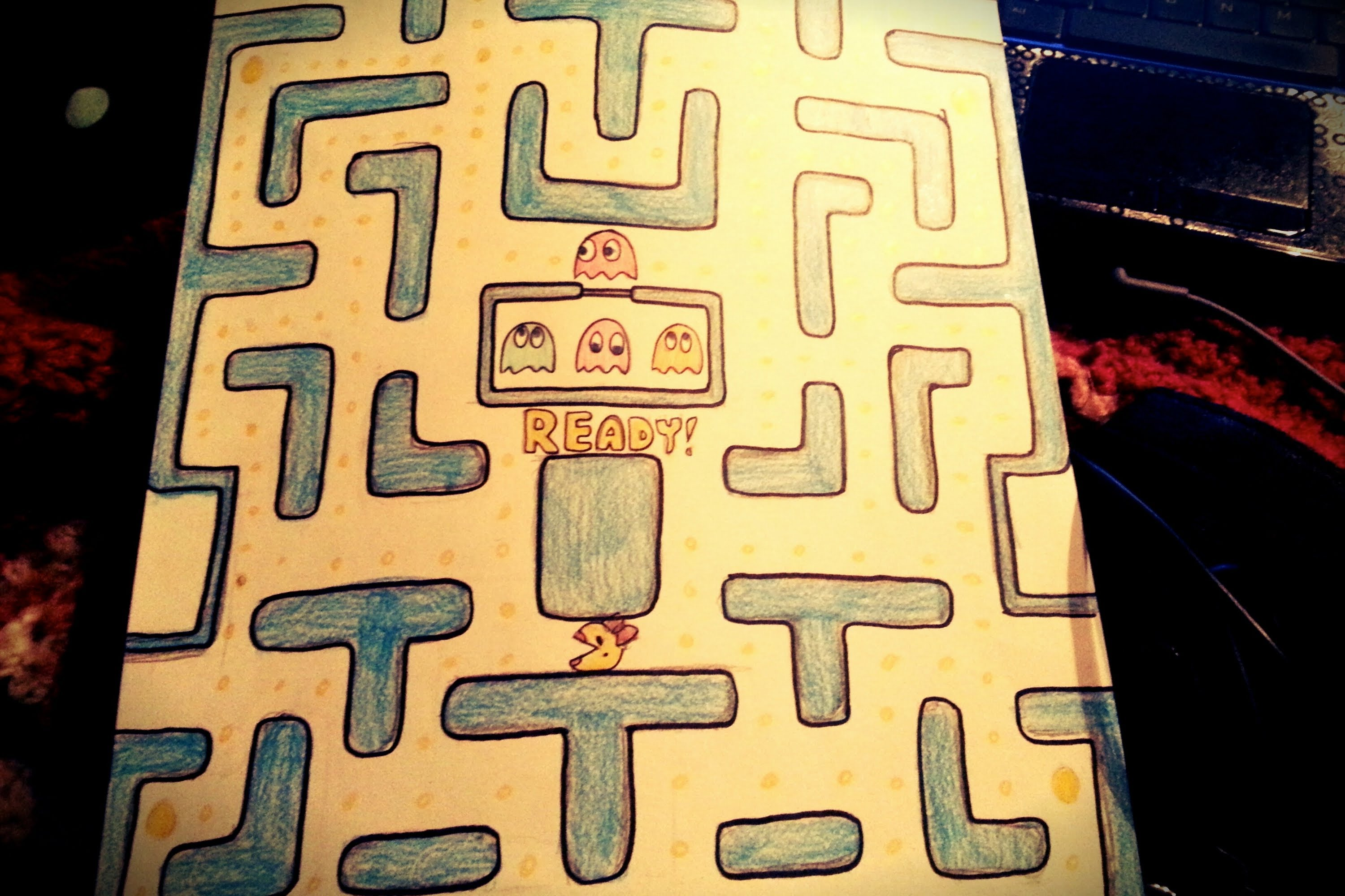 Pacman Drawing at GetDrawings.com | Free for personal use Pacman ...