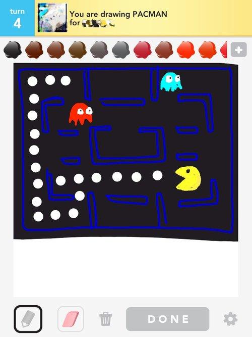 500x667 Pacman Drawings