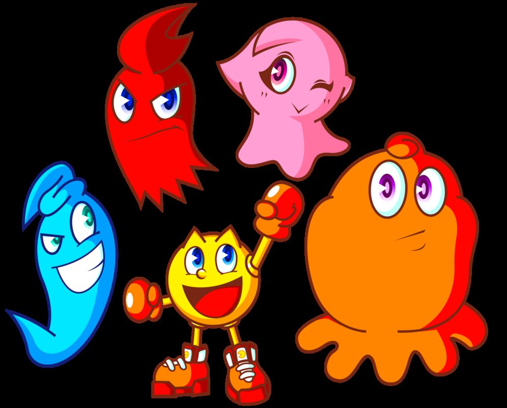 996x802 Pac Man And Ghost Monsters By Jamesmantheregenold