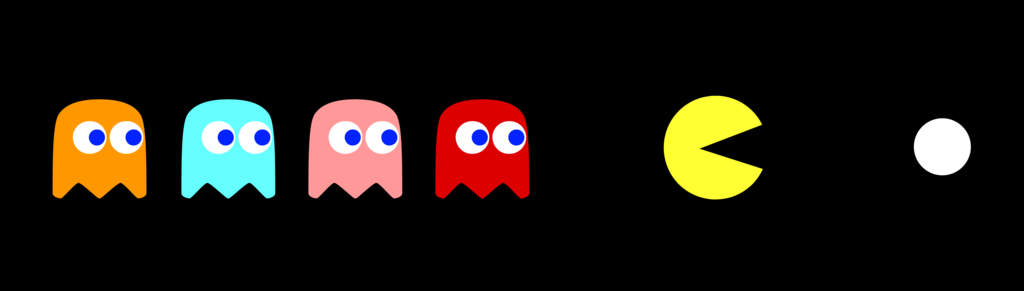 1024x291 Pacman And The Ghosts By Juniorgustabo