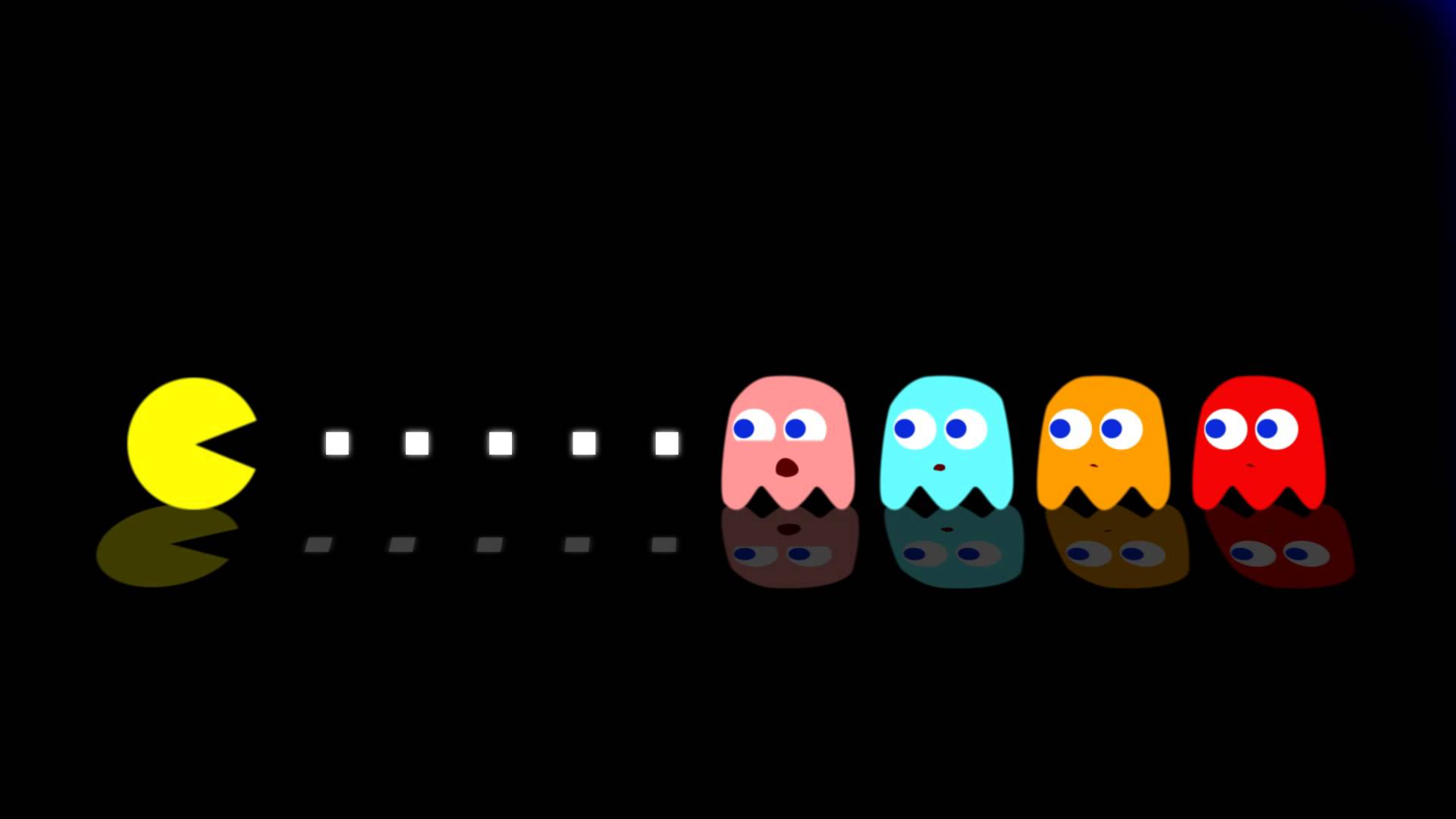1920x1080 The Ghosts Plot Against Pacman
