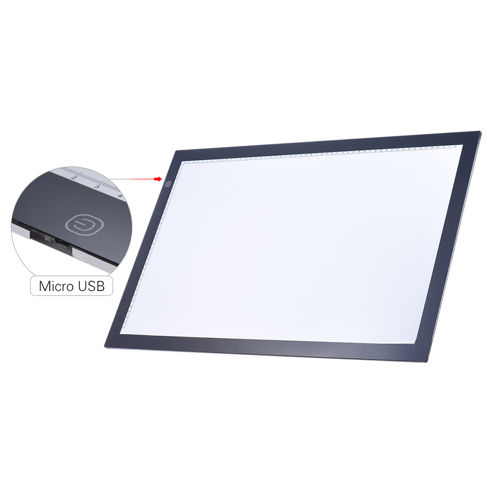 1000x1000 A2 Led Light Box Pad Drawing Tracing Tracer Copy Board Table Pad