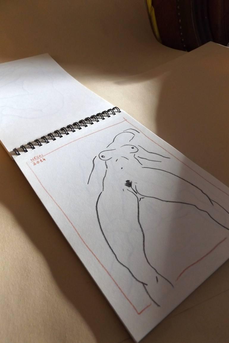770x1155 Saatchi Art Italian Artist's Sketchbook
