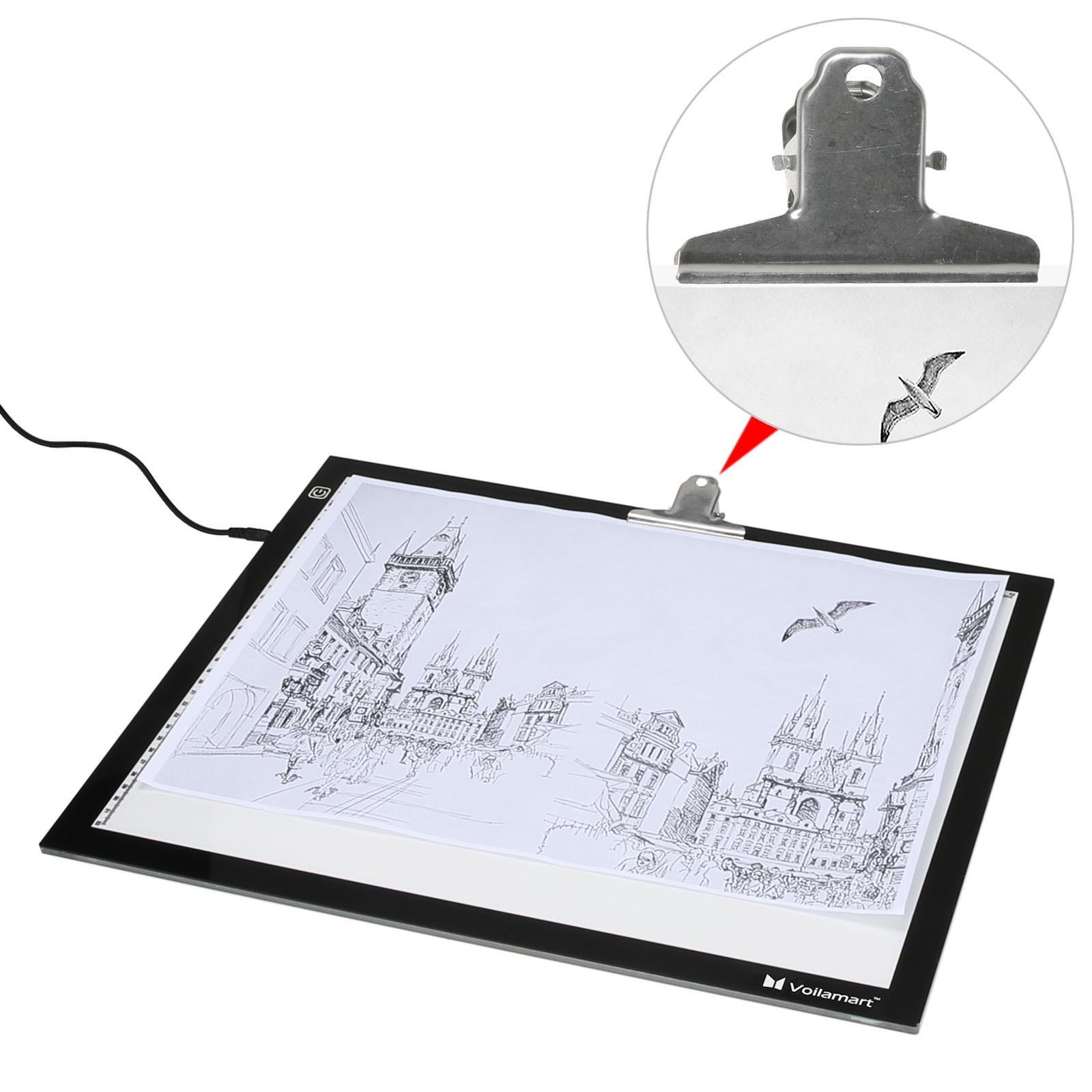 1600x1600 Voilamart A2 Led Tracing Light Box Stencil Drawing Board Pattern