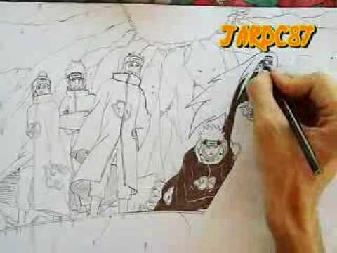 480x360 Drawing Six Pain (Naruto Shippuden) By Jardc87