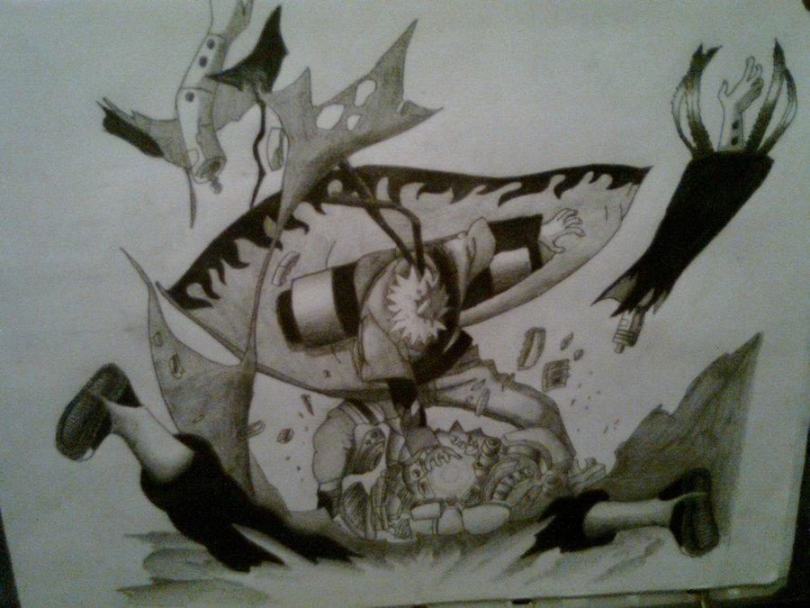 900x675 Naruto Vs Pain By Sergiogouryuuka