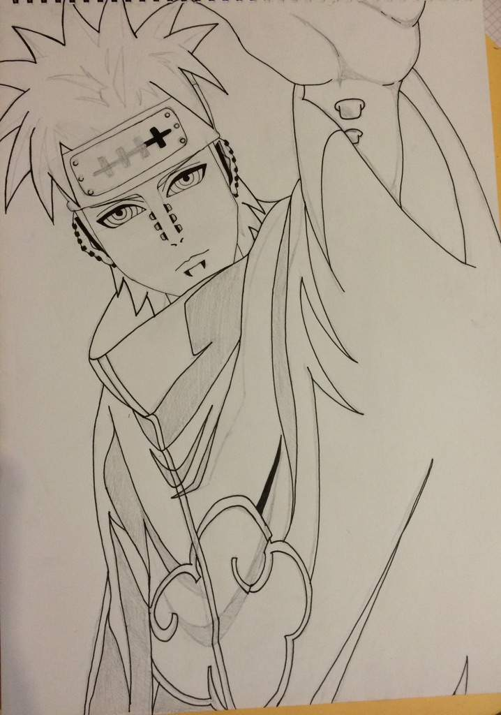 Diagram Pain Naruto Drawing At Getdrawings