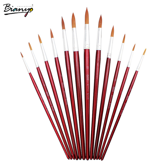 640x640 Bianyo Cute Brushes For Drawing Artist Professional Supplies