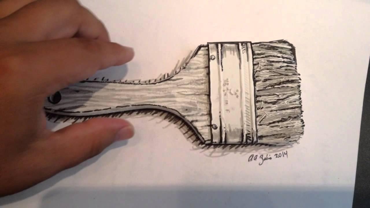 1280x720 Paintbrush Drawing Fun