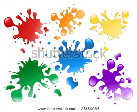450x368 stock vector choose from a variety of colorful paint splatters on