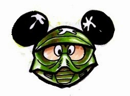 254x187 Finding Bonggamom How To Decorate Mickey Paintball Rice Krispy