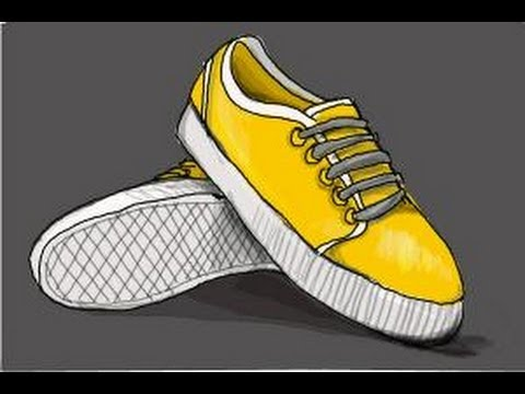 480x360 How To Draw Vans Shoes