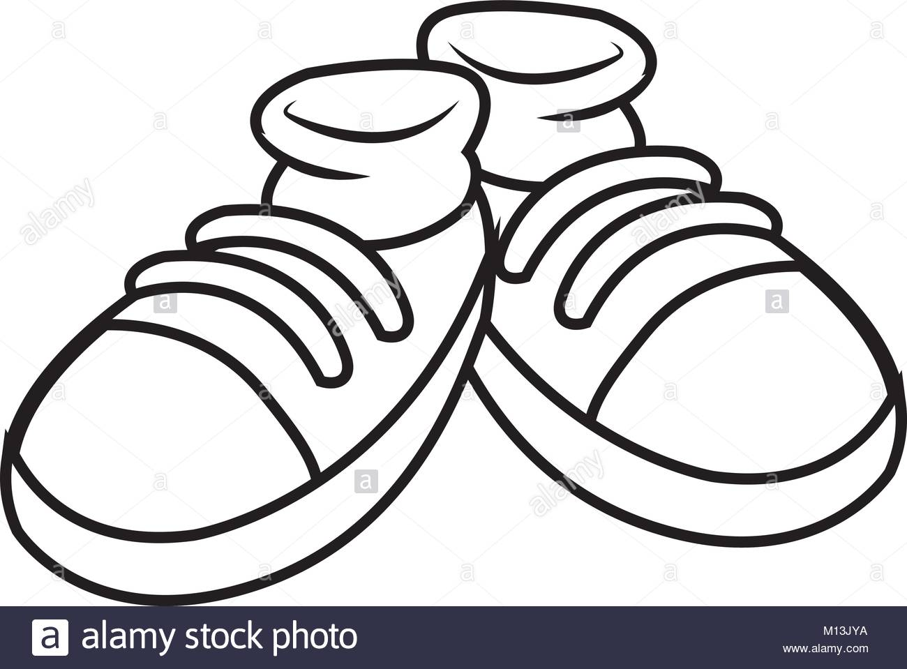 how to draw a pair of shoes