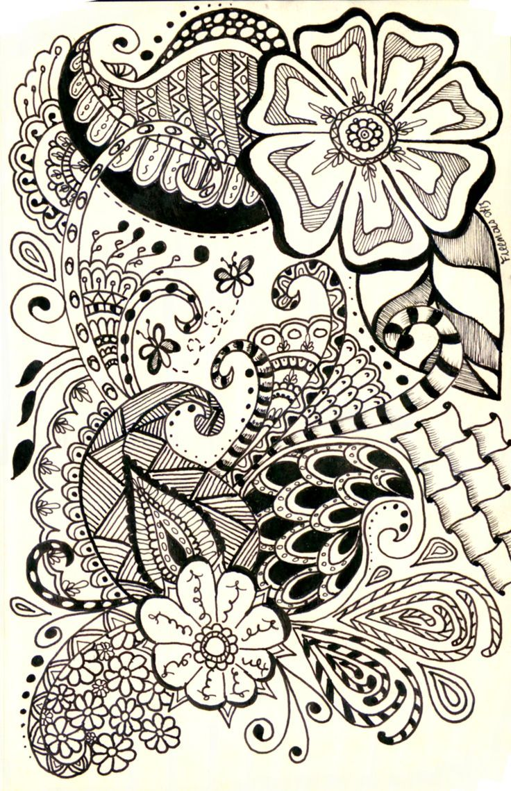 736x1139 Gallery Cool Designs Patterns To Draw,