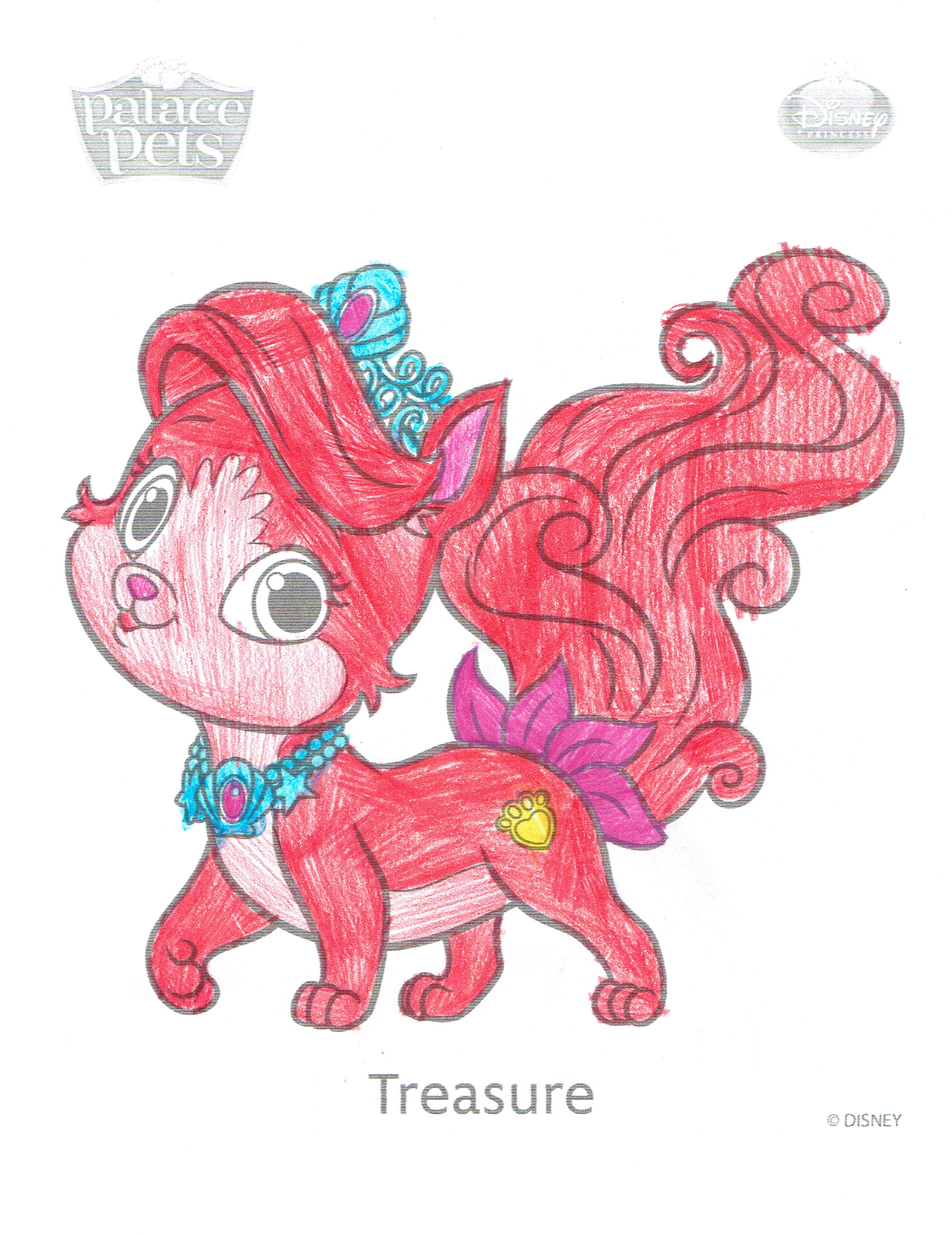 400x517 Princess Palace Pets Coloring Pages With Kids N Fun 2526x3276 Treasure Lilly The Artist