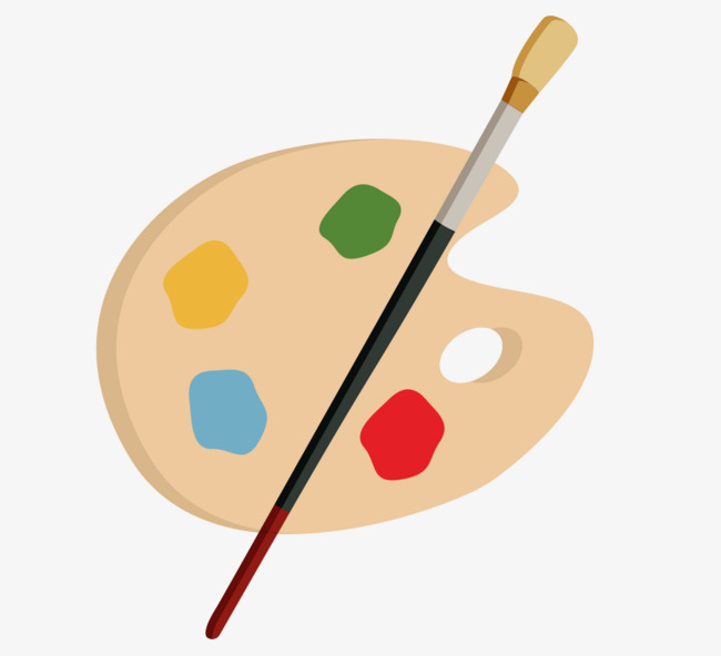650x592 Vector Exquisite Palette Of Drawing Tools, Palette, Drawing Tools
