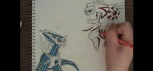 300x140 How To Draw Palkia Vs Dialga From The Pokemon Video Game Drawing