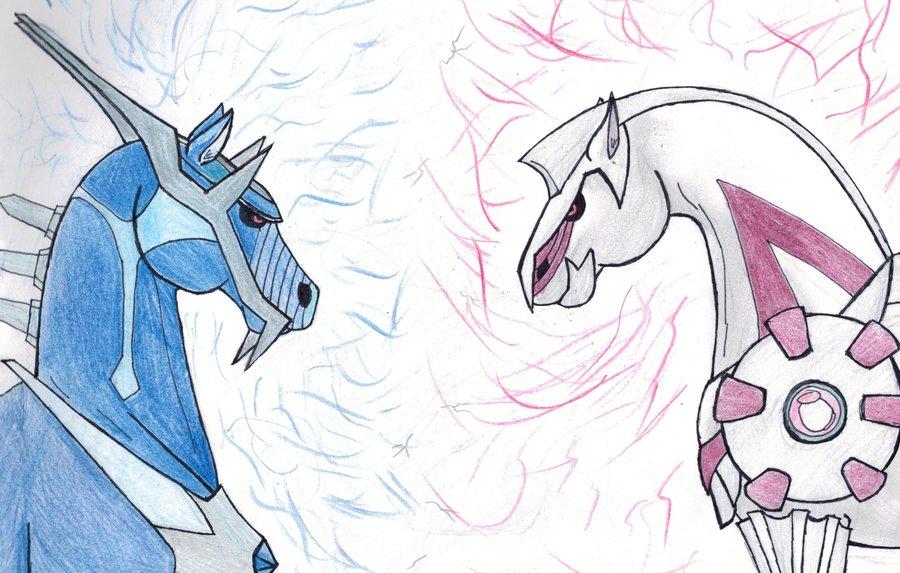900x573 Palkia And Dialga In Horse Form By Pharlapfan16