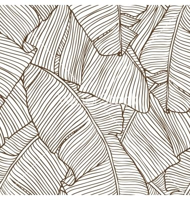 380x400 Palm Leaves Pattern Vector 949286